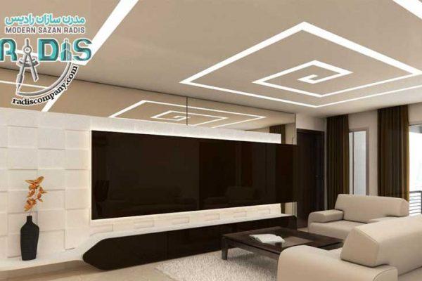 برترین نمونه های بازسازی دیوار و سقف با کناف