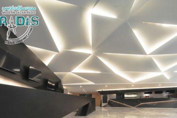 انواع مدل سقف کناف جدید