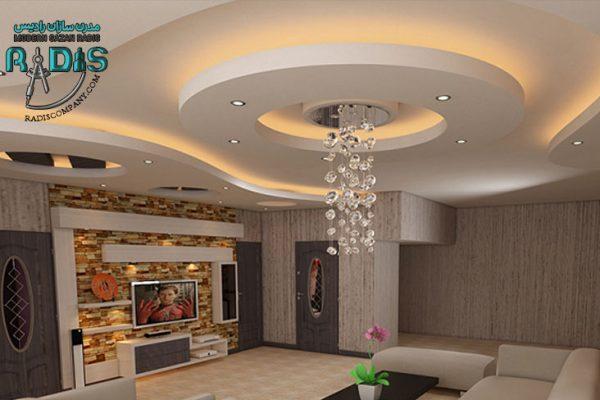 8 طرح جدید کناف سقف و دیوار سری دوم