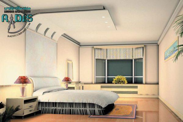 سقف کناف اتاق خواب 2020