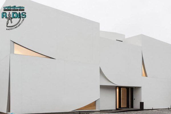 نمای ساختمان با فایبرسمنت ساده