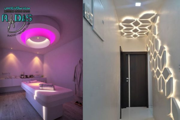 بهترین روشهای نورپردازی کناف سقف