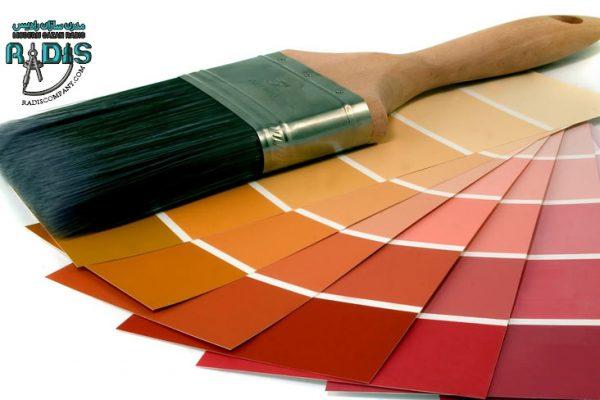 میزان رنگ پذیری فایبر سمنت برد چگونه است؟