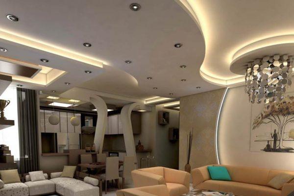 6 ایده خارق العاده سقف کناف