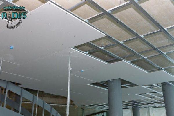 کاربرد پنل های گچی کناف بر اساس قطر